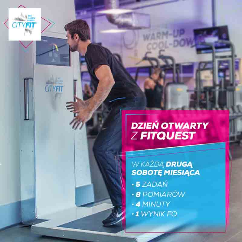 FitQuest installed in CityFit Poland