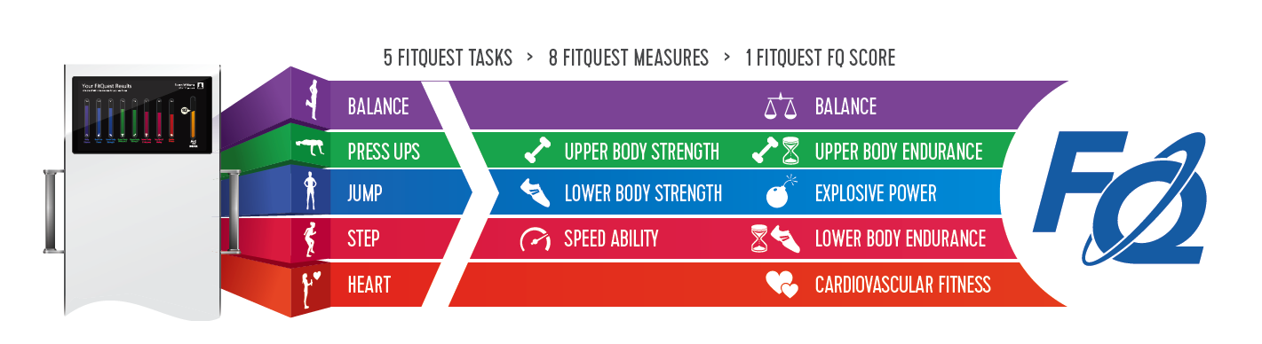 comprehensive fitness measurement in 4 minutes