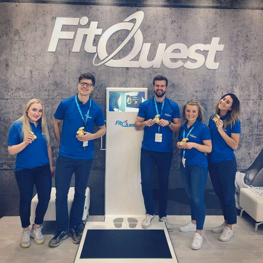 The FitQuest team enjoyed another successful FIBO helping visitors find out how fit they are