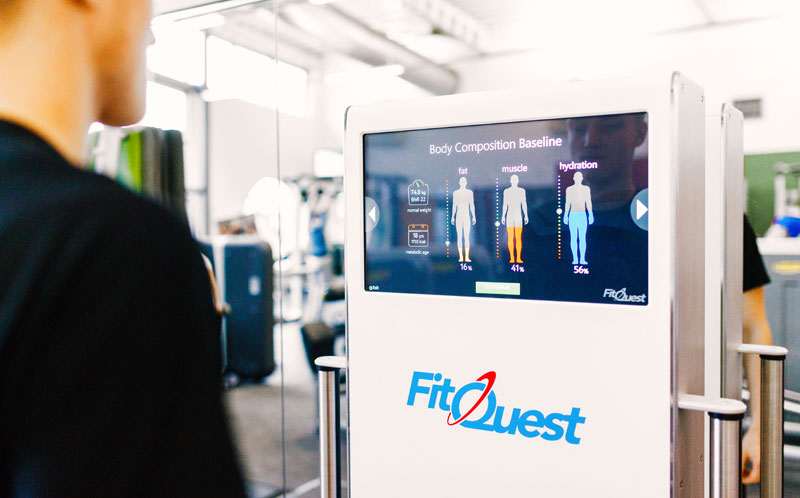 FitQuest BIA introduces body composition measurement for a full fitness assessment