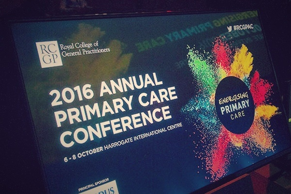 2016 annual primary care conference sign