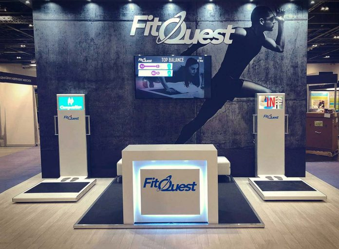 FitQuest showcasing fitness measurement and body composition at the UK's leading physical activity trade show, Elevate