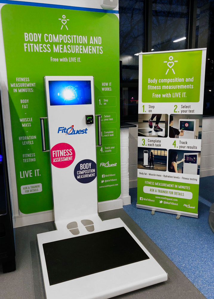 FitQuest Kiosk Live It